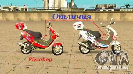 Suzuki Addres pour GTA San Andreas