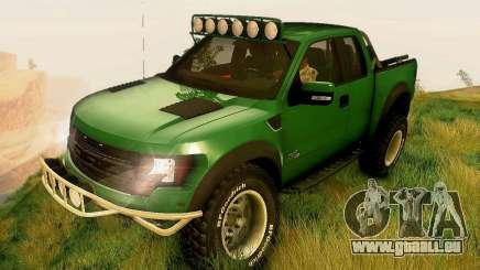 Ford F150 2011 SVT RapTor für GTA San Andreas