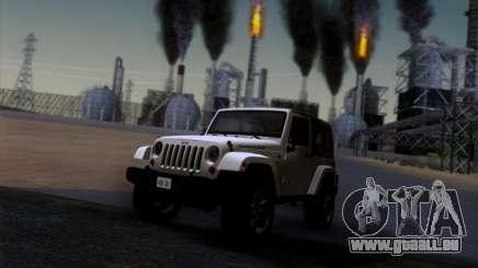 Jeep Wrangler Rubicon pour GTA San Andreas