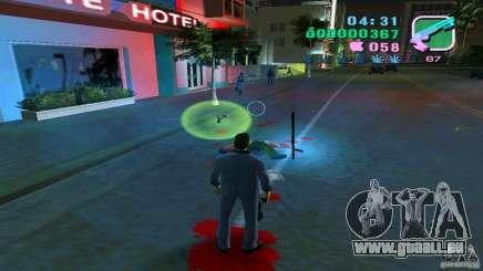 L'écoulement du sang pour GTA Vice City