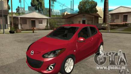 Mazda 2 2011 für GTA San Andreas