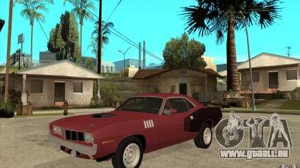 Plymouth Cuda 426 für GTA San Andreas
