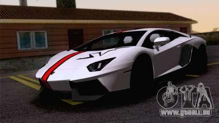 Malen Arbeit Lamborghini Aventador LP700-4 für GTA San Andreas