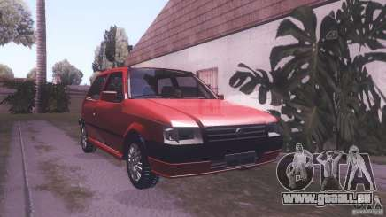 Fiat Uno Mile Fire Original pour GTA San Andreas