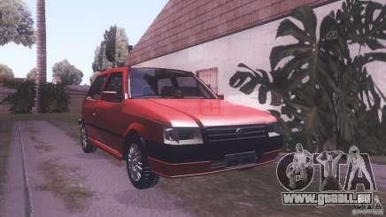 Fiat Uno Mile Fire Original für GTA San Andreas