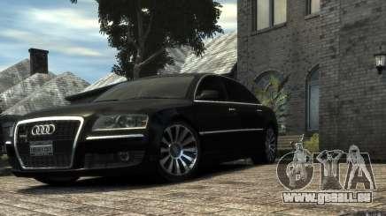 Audi A8 L 6.0 Quattro (Transporter 3) pour GTA 4