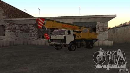 Grue de camion MAZ pour GTA San Andreas