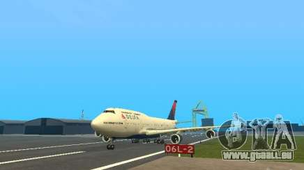 Boeing 747-400 Delta Airlines pour GTA San Andreas