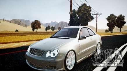 Mercedes-Benz CLK63 AMG Final für GTA 4