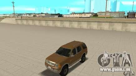 Ford Explorer 2002 pour GTA San Andreas