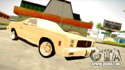 Chevrolet El Camino 1976 pour GTA San Andreas
