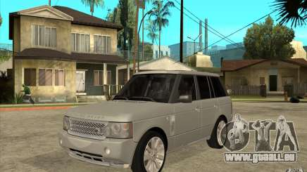 Land Rover Range Rover Supercharged 2009 pour GTA San Andreas