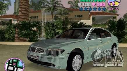 BMW 760 Li pour GTA Vice City