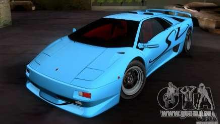 Lamborghini Diablo SV V1.0 pour GTA San Andreas