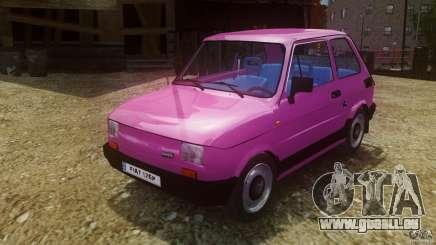 Fiat 126p FL Polski 1994 Wheels 1 für GTA 4