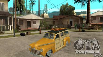 Ford Woody Custom 1946 pour GTA San Andreas