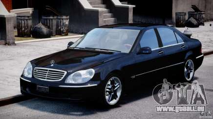 Mercedes-Benz W220 für GTA 4