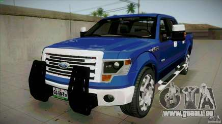 Ford Lobo Lariat Ecoboost 2013 pour GTA San Andreas