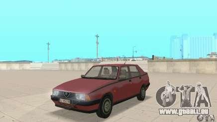 Alfa Romeo 75 pour GTA San Andreas