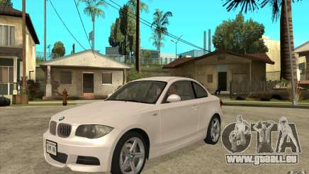 BMW 135i Coupe pour GTA San Andreas