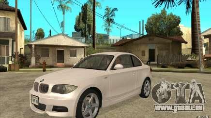 BMW 135i Coupe pour GTA San Andreas
