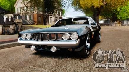 Plymouth Cuda 1971 [EPM] Mopar pour GTA 4