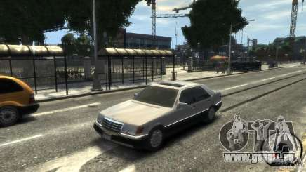 Mercedes-Benz 600SEL wheel1 tinted pour GTA 4