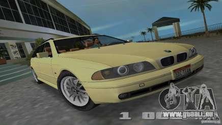 BMW 5S Touring E39 für GTA Vice City