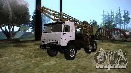 KAMAZ 43118 rig für GTA San Andreas