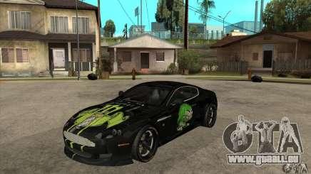 Aston Martin DB9 NFS PS Tuning für GTA San Andreas