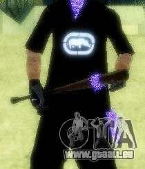 Morceaux de peau Pack pour The Ballas Gang pour GTA San Andreas