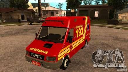 Iveco Daily UR Bombeiros SP für GTA San Andreas