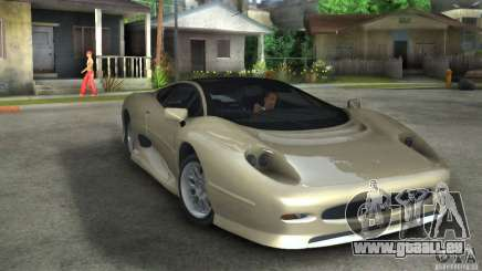Jaguar XJ 220 Black Rivel pour GTA San Andreas