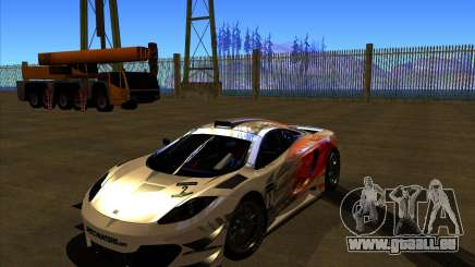 McLaren MP4 - SpeedHunters Edition für GTA San Andreas