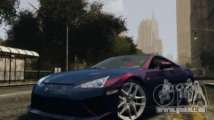 Lexus LF-A für GTA 4