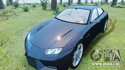 Lamborghini Estoque pour GTA 4