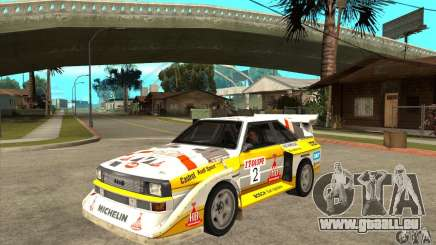 Audi Quattro S1 Group B für GTA San Andreas
