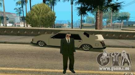 Black MIB pour GTA San Andreas