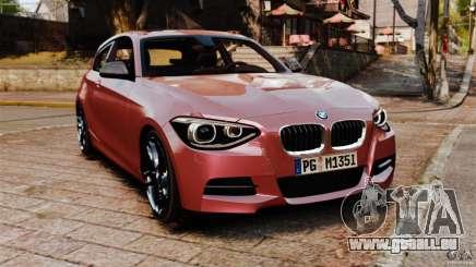 BMW M135i 2013 pour GTA 4