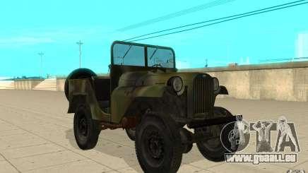 Gaz-64 peau 2 pour GTA San Andreas