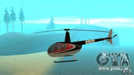Robinson R44 Raven II NC 1.0 2 la peau pour GTA San Andreas