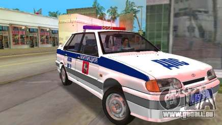 VAZ 2115 DPS für GTA Vice City