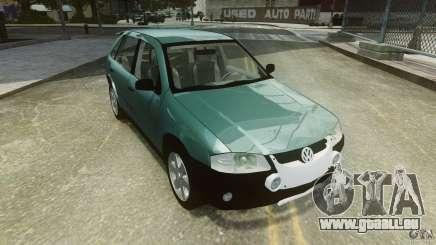Volkswagen Gol G4 Rallye pour GTA 4