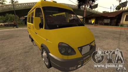 Gazelle 32213 Nowosibirsk Kleinbus für GTA San Andreas
