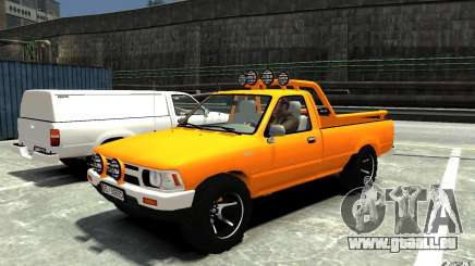 Toyota Hilux 1989-1993 Single cab v1 pour GTA 4