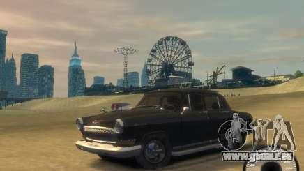 Gaz Volga 21 v8 pour GTA 4