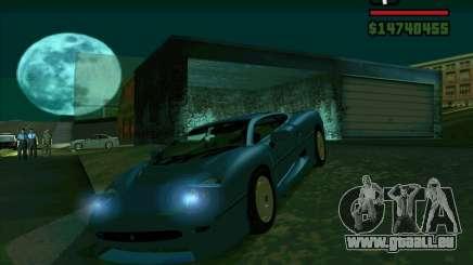 Jaguar JXJ 220 für GTA San Andreas