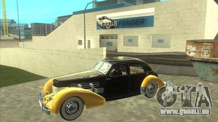 1937 Cord 812 Charged Beverly Sedan pour GTA San Andreas