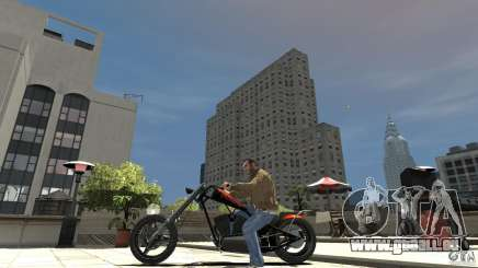 The Lost and Damned Bikes Diabolus für GTA 4
