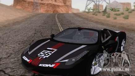Ferrari F458 für GTA San Andreas